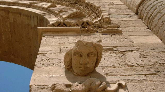 Ruinas da la citad antica Nimrud.