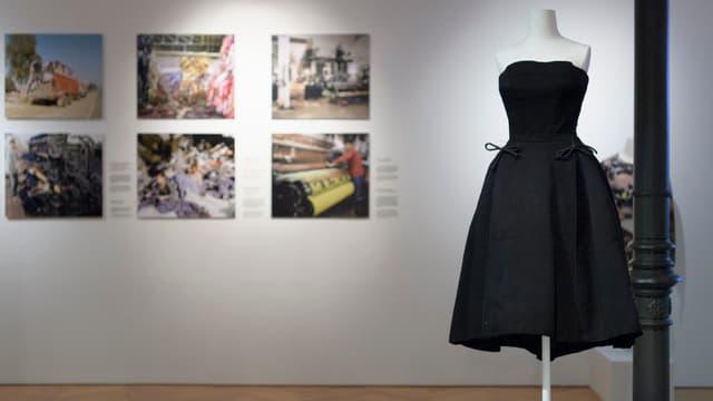 Austellung «Fast fashion» im Textilmuseum St.Gallen