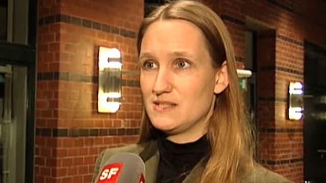 Die Syrien-Expertin Kristin Helberg.