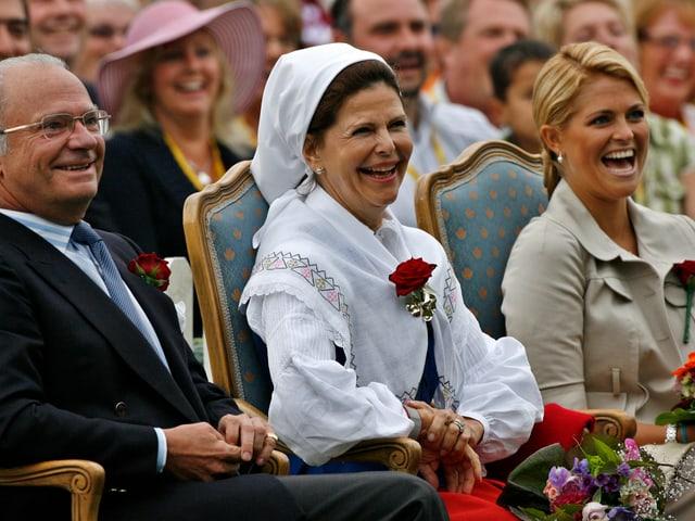 Carl Gustaf, Silvia, Madeleine