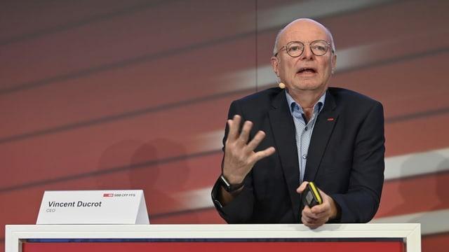 CEO da SBB.