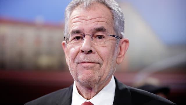 Der amtierende Bundespräsident: Alexander Van der Bellen.