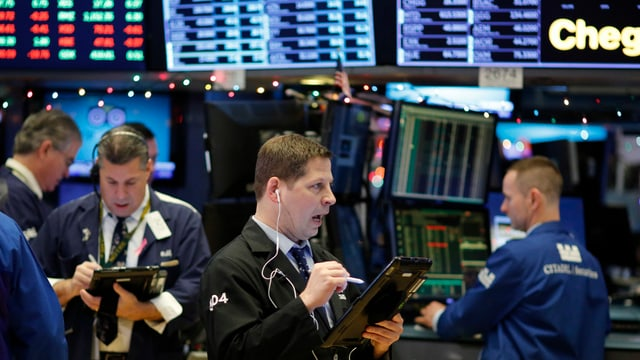 Blick an die Wall Street.