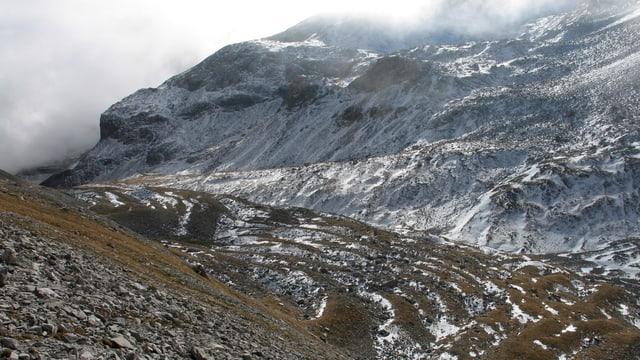 Blockgletscher oberhalb von Sufers (GR).
