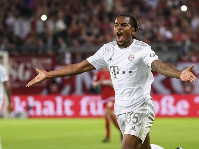 Renato Sanches steht mit Bayern München in der zweiten Pokal-Runde.