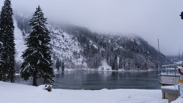 Der Obersee im Winter