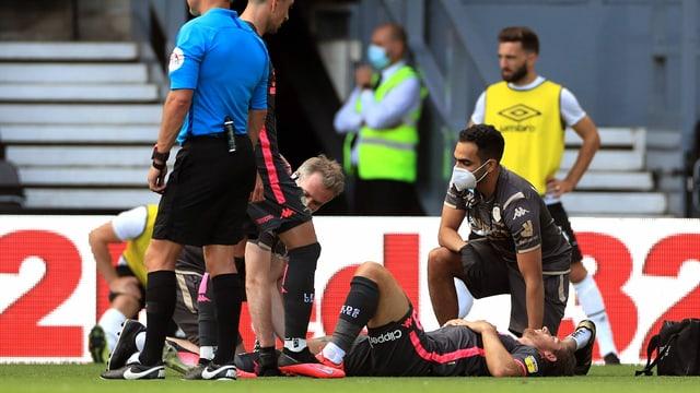 Gaetano Berardi verletzte sich am Sonntag schwer.