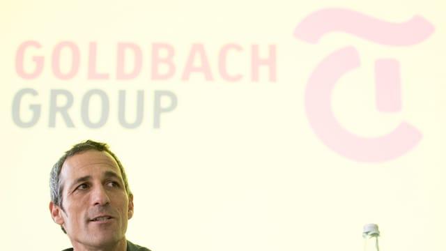 Purtret da Christoph Tonini, il CEO da Tamedia.