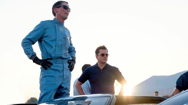 Christian Bale und Matt Damon in dem Film Le Mans 66