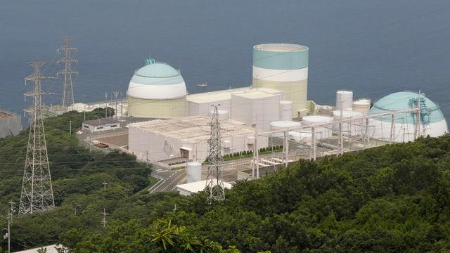 reactur 3 da l'ovra nucleara - Ikata - en il vest dal pajais.
