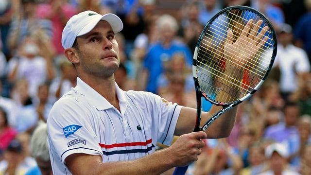 Andy Roddick hängt sein Racket an den Nagel.