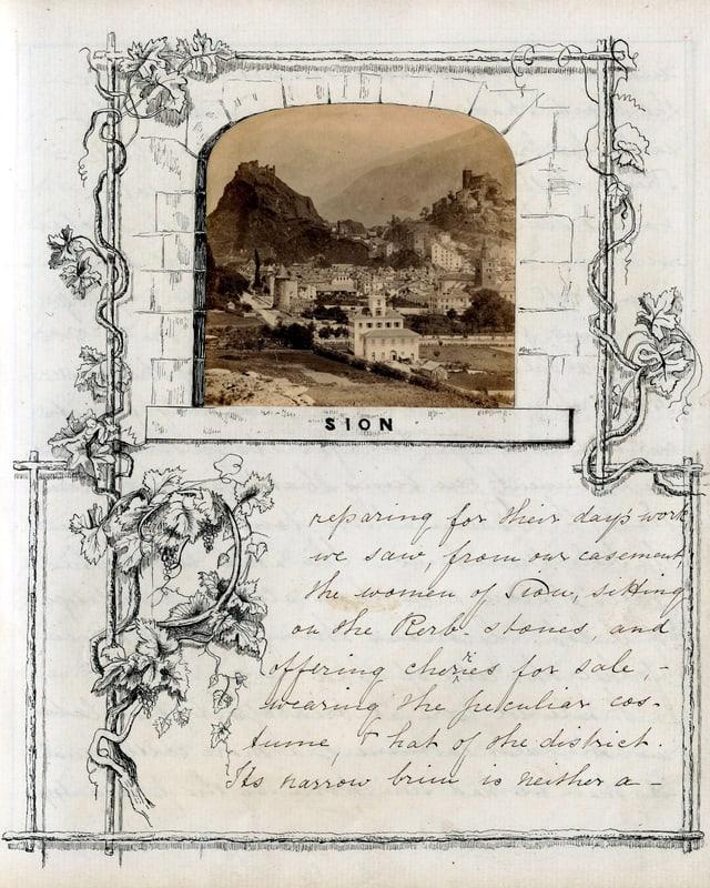 Tagebuchseite