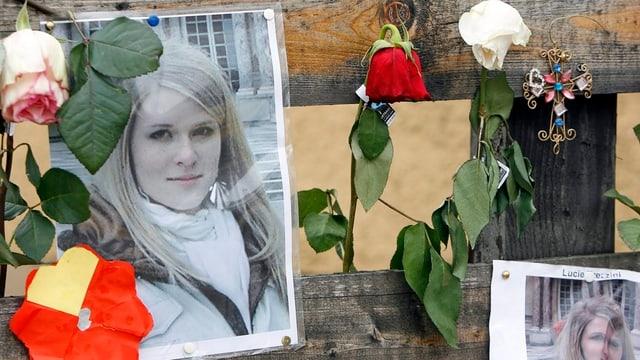 Bild des getöteten Au-Pair-Mädchens Lucie.