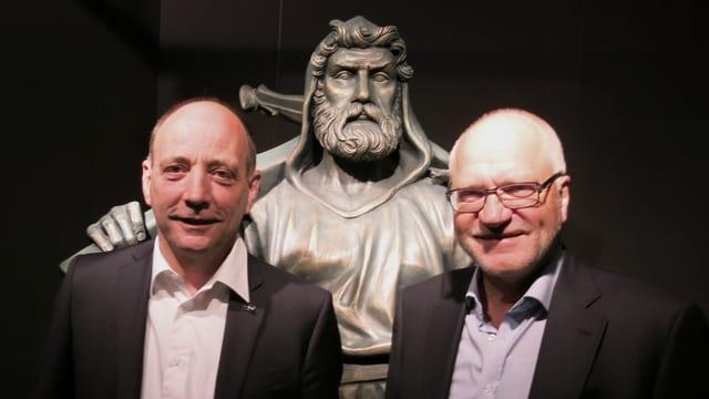 Leo Brücker und Georges Theiler