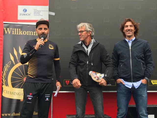 Chasing Cancellara - er in inscunter cun prominents ord la scena da sport.