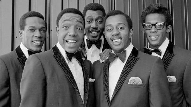 5 Sänger der Temptations
