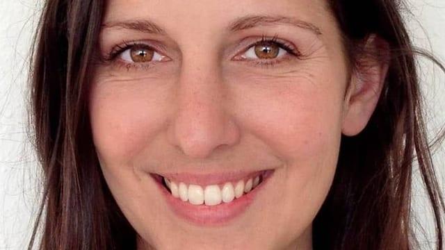 Porträt der Schweizer Schriftstellerin Silvia Tschui
