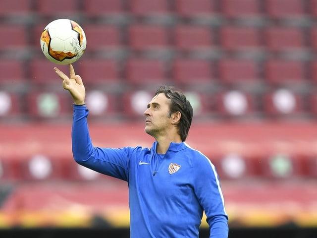 Julen Lopeteguis FC Sevilla kann sich gegen ManUnited auf eine solide Defensive verlassen.