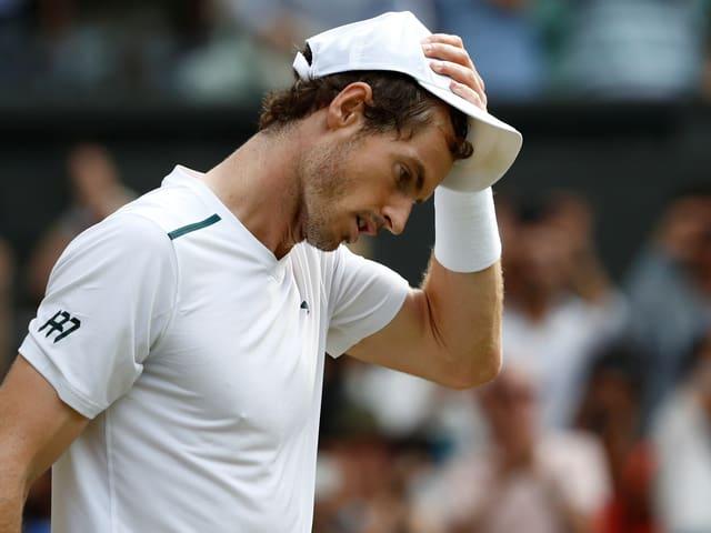 Grosse Sorgen um Andy Murray.