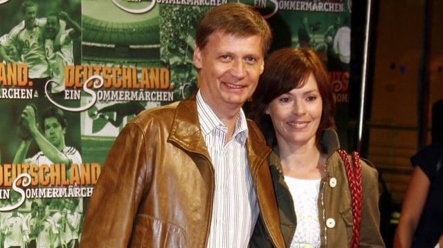 Günther Jauch mit seiner Frau Dorothea