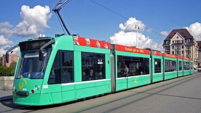 Tram der Basler Verkehrsbetriebe