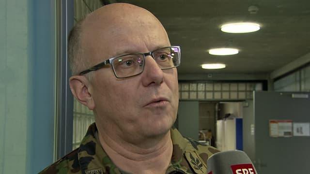 Armeechef Philippe Rebord.