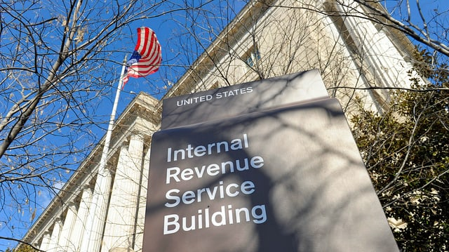 Gebäude der US-Steuerbehörde