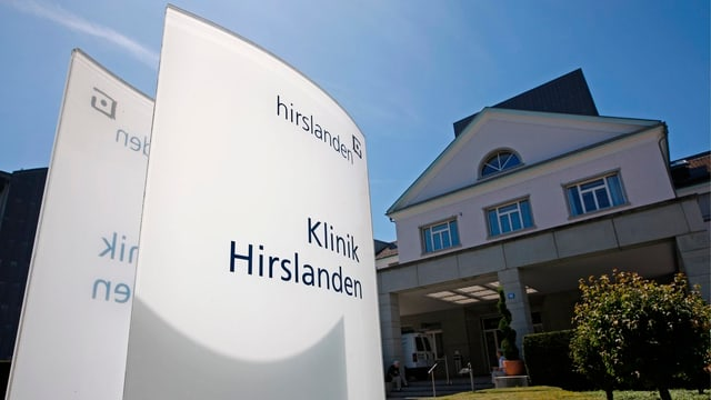 Die Privatklinikgruppe Hirslanden AG betreibt in der Schweiz 17 Kliniken in  elf Kantonen.