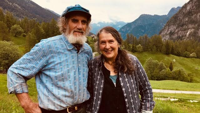 Die Zürcher Markus und Verena Senn leben seit 1986 auf einer abgelegenen Alp im Tessin