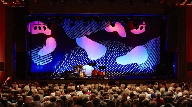 Die Hauptbühne des Jazz Festivals Willisau.