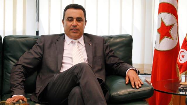 Industrieminister Mehdi Jomaâ