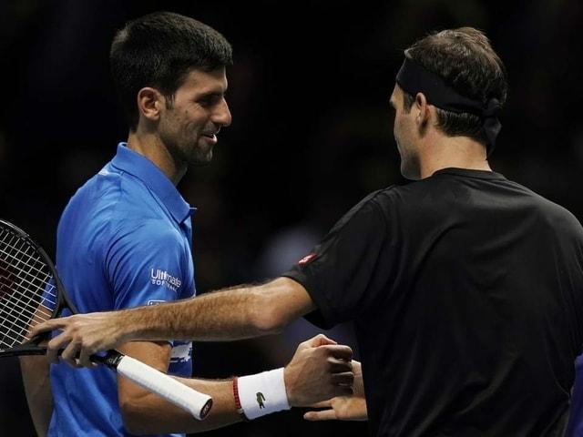 Djokovic e Federer