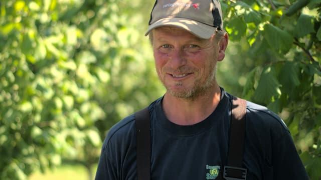 Portrait eines Bauers.