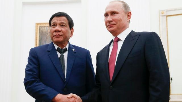 Duterte und Putin