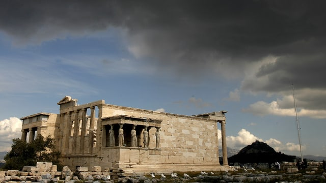 Acropolis Athen cun nivels stgirs
