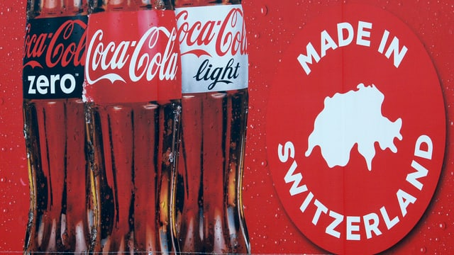 Coca Cola - Made in Switzerland