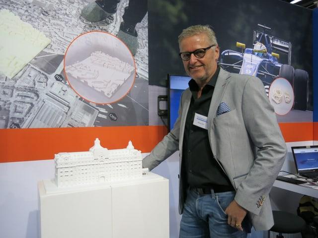Die Firma von Marcus Risi aus Stans bietet auch 3-D-Modelle für die Raumplanung an.