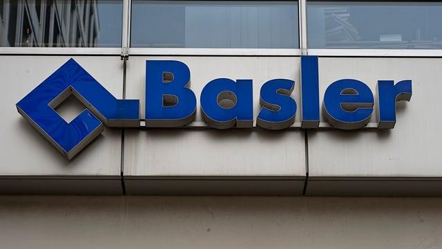 Das Logo der Basler Versicherungen