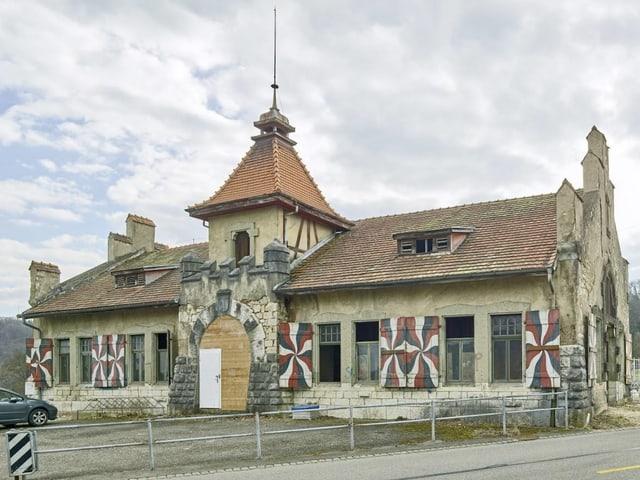 Schützenhaus Baden von aussen