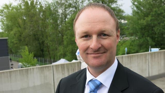Matthias Jurt, der Leiter Aus- und Weiterbildung an der Interkantonalen Polizeischule Hitzkirch.