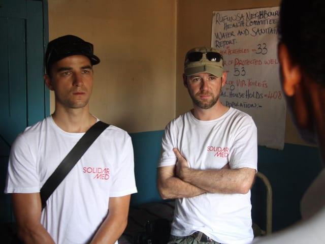 Nino Schurter und Nik Hartmann
