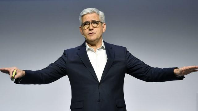 Ulrich Spiesshofer, fin uss CEO dal concern da tecnologia ABB.