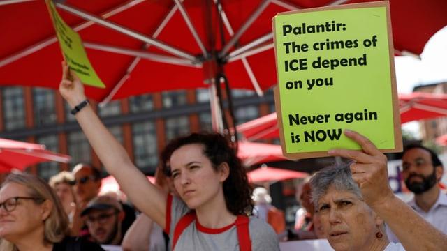 Die Geschäftstätigkeit von Palantir ist nicht unbestritten (Archivbild).