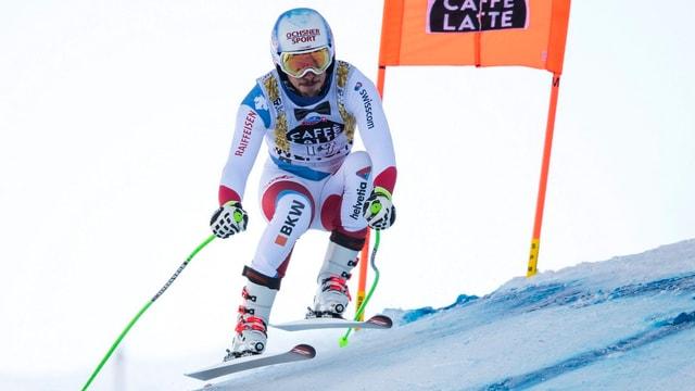 Il skiunz Carlo Janka sin pista