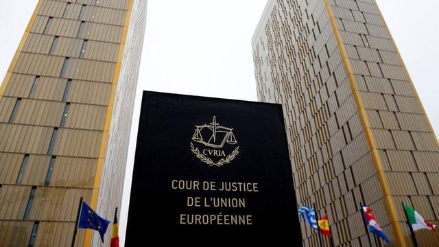 Tribunal europeic a Brüssel.