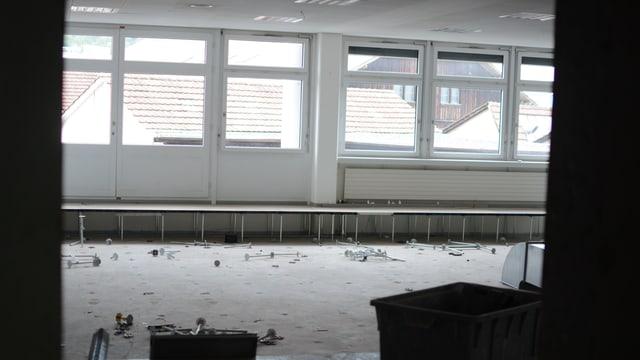 Der Umbau ist in vollem Gange. 80 Arbeitsplätze sollen auf zwei Etagen entstehen.