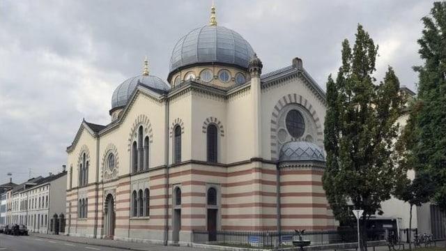 Die Basler Synagoge.