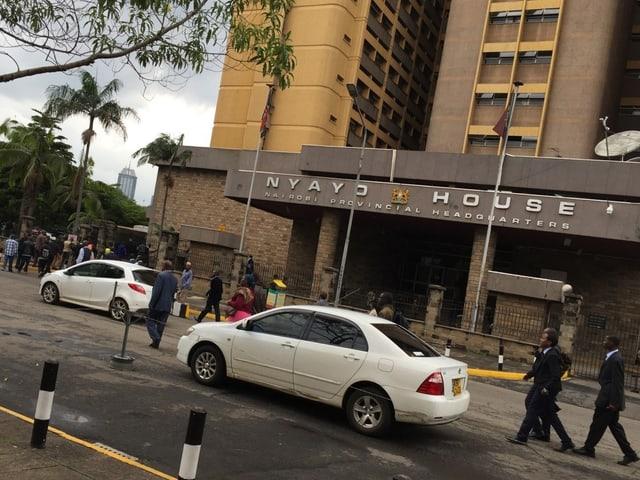 Die Einwohnerkontrolle in Nairobi