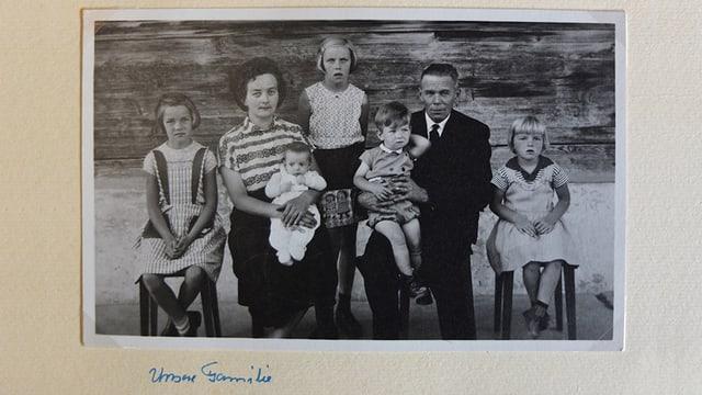 Altes Familienbild