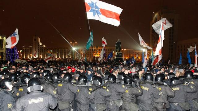 Proteste nach den Wahlen 2010